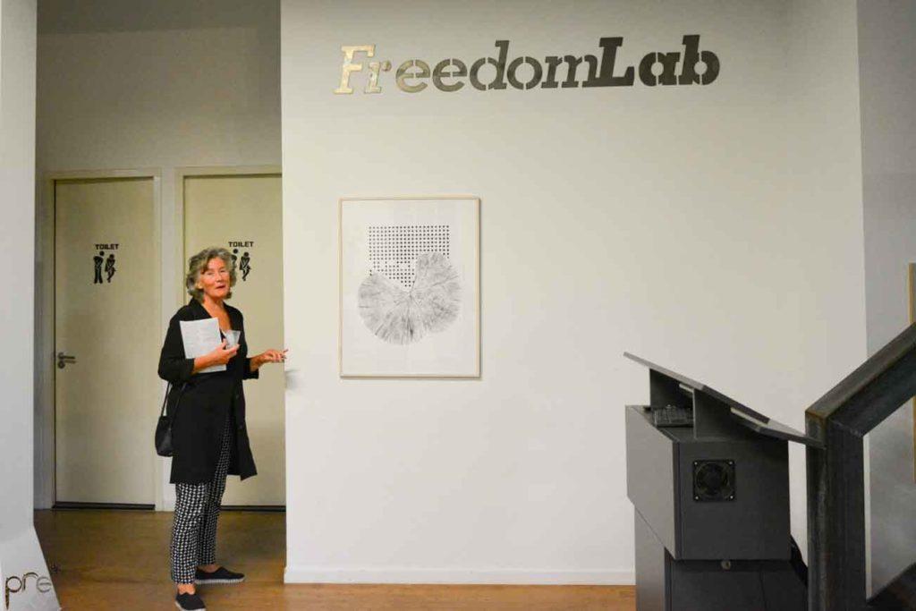 opening expositie bij FreedomLab Amsterdam