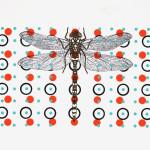 myrthevdheijkant4822-libelle-zwart-stippen-rood-turq-zwart