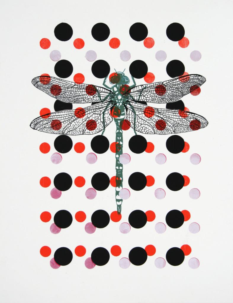 myrthevdheijkant4825-libelle-groen-stippen-roze-rood-zwart